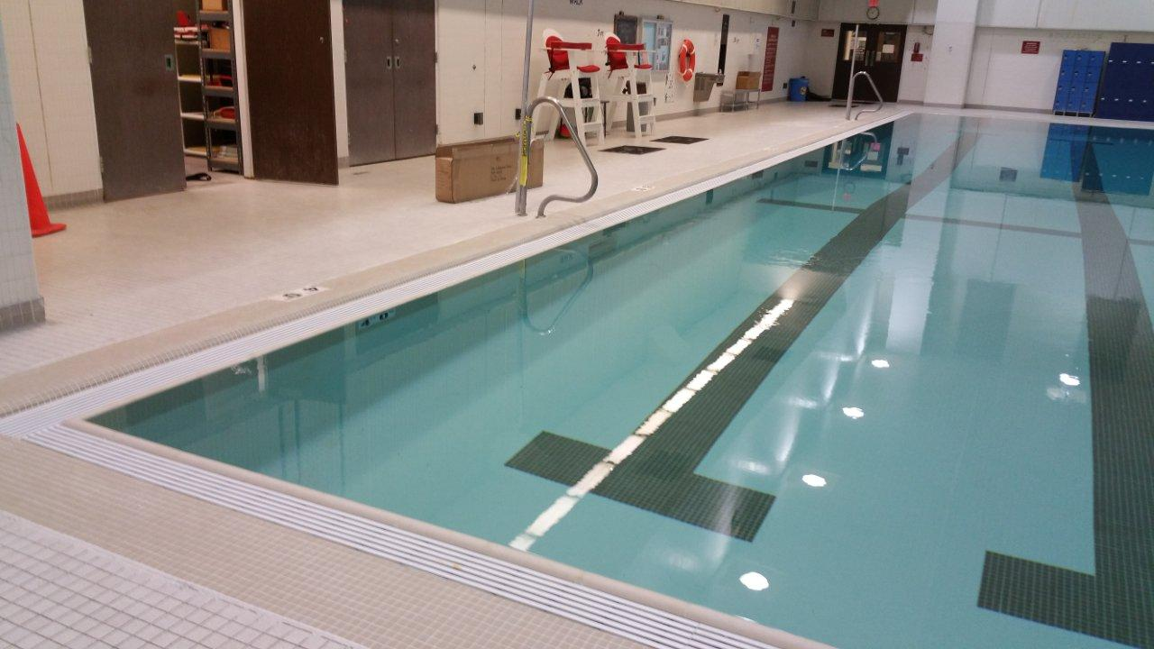 Swimming Pool Systems : Natural flow swimming pool overflow systems